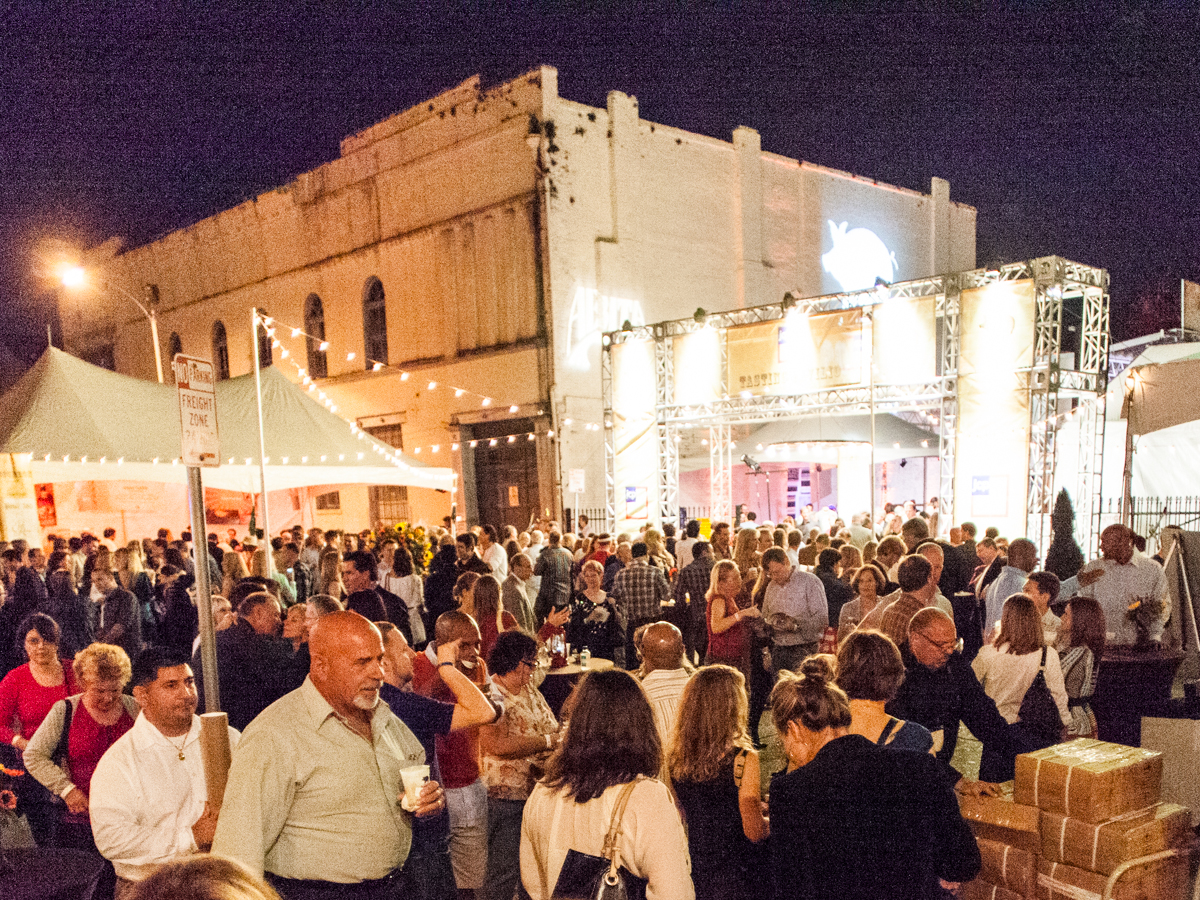 Boudin and Beer Festival Crowds