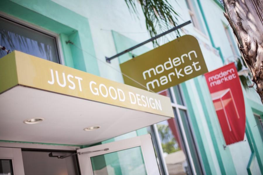 Modern Market Sign