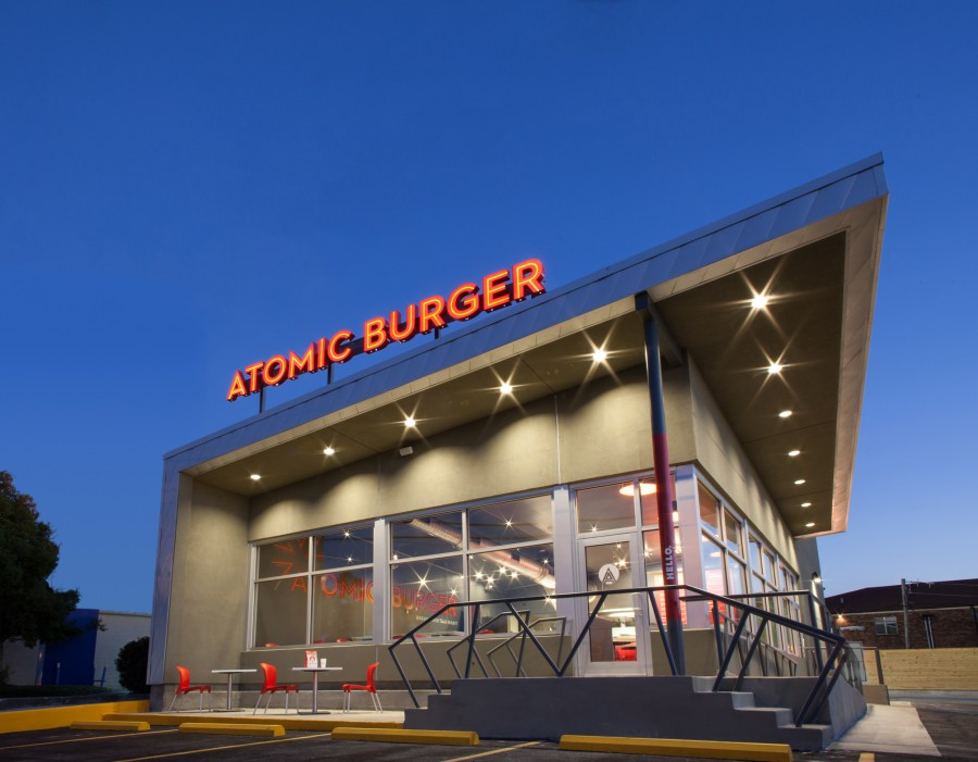 Atomic Burger Architectural