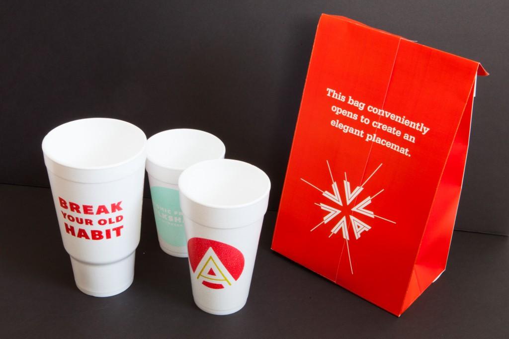 Atomic Burger Packaging
